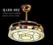 Đèn quạt QLED 002