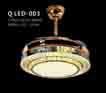 Đèn quạt QLED 003