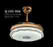 Đèn quạt QLED 006