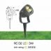Đèn rọi cỏ sân vườn RC 02 3W