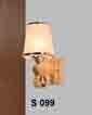 Đèn tường gỗ S 099
