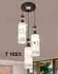 Đèn thả gỗ T 102/3