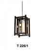 Đèn thả gỗ T 226/1