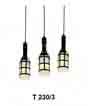 Đèn thả gỗ T 230/3