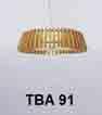 Đèn thả gỗ TBA 91