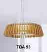 Đèn thả gỗ TBA 93