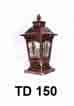 Đèn trụ cổng TD 150
