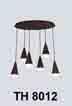 Đèn thả LED trang trí TH 8012