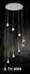 Đèn thả dây pha lê TH 8066