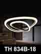 Đèn thả nghệ thuật LED TH 834B-18