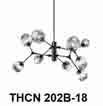 Đèn chùm nghệ thuật THCN 202B-18