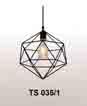 Đèn thả quán cafe TS 035/1