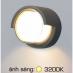 Đèn vách ngoại thất VÁCH 06 8W