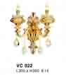 Đèn tường nến VC 022