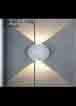 Đèn rọi ngoài trời LED VNT 612/2 Trắng