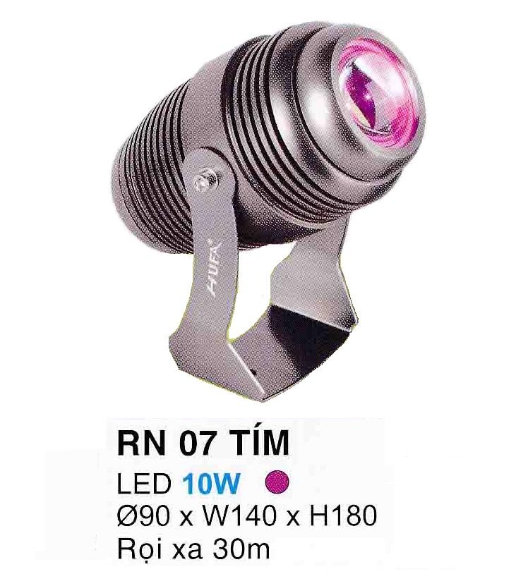 Đèn led pha rọi mặt tiền RN 07 TÍM