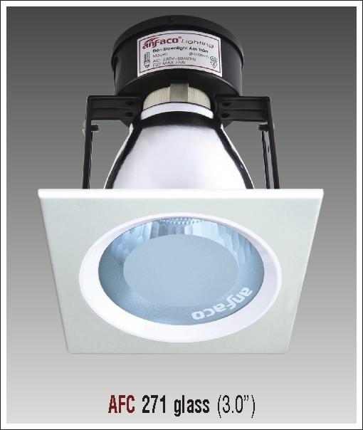 Đèn lon âm trần kiếng AFC 271 glass 3.0