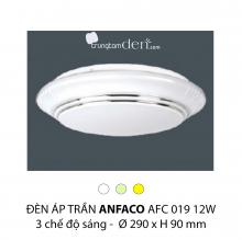 Đèn áp trần led 3 chế độ AFC 019 12W 3C