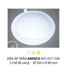 Đèn áp trần led 3 chế độ AFC 077 15W 3C
