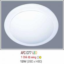 Đèn áp trần led 1 chế độ Đèn áp trần led 077 12W 1C