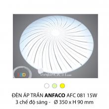 Đèn áp trần led 3 chế độ AFC 081 15W 3C
