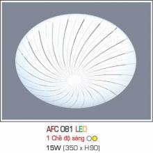 Đèn áp trần led 1 chế độ Đèn áp trần led 081 15W 1C