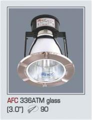 Đèn lon âm trần kiếng AFC 336ATM glass 3.0