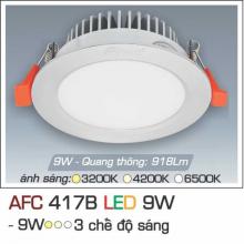 Đèn downlight led 3 chế độ AFC 417B 9W 3C