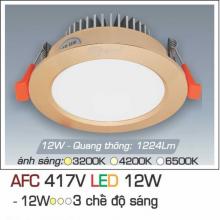 Đèn downlight led 3 chế độ AFC 417V 12W 3C