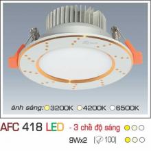 Đèn downlight led 3 chế độ AFC 418 9W 3C