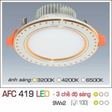 Đèn downlight led 3 chế độ AFC 419 9W 3C