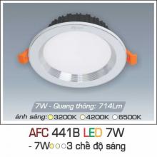 Đèn downlight led 3 chế độ AFC 441B 7W 3C