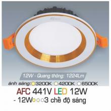 Đèn downlight led 3 chế độ AFC 441V 12W 3C