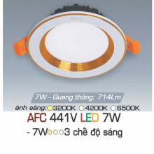 Đèn downlight led 3 chế độ AFC 441V 7W 3C