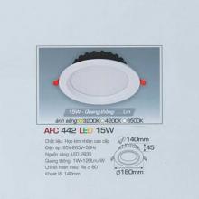 Đèn downlight led 1 chế độ AFC 442 15W