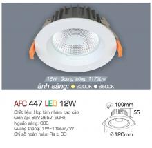 Đèn downlight led 1 chế độ AFC 447 12W
