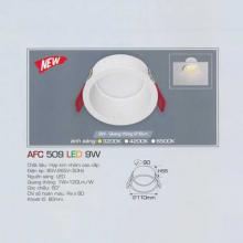 Đèn downlight led 1 chế độ AFC 509 9W