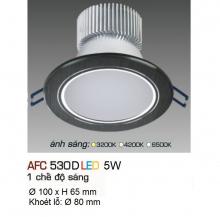 Đèn downlight led 1 chế độ AFC 530D 5W