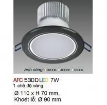 Đèn downlight led 1 chế độ AFC 530D 7W