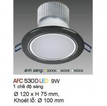Đèn downlight led 1 chế độ AFC 530D 9W