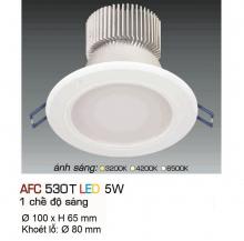 Đèn downlight led 1 chế độ AFC 530T 5W