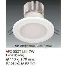 Đèn downlight led 1 chế độ AFC 530T 7W