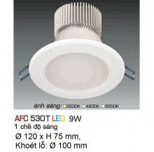 Đèn downlight led 1 chế độ AFC 530T 9W
