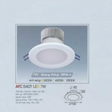 Đèn downlight led 1 chế độ AFC 540T 7W