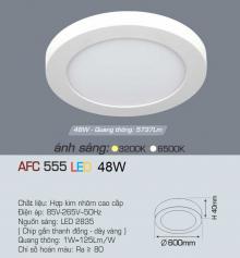 Đèn led nổi cao cấp 1 chế độ AFC 555 48W