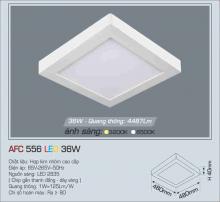 Đèn led nổi cao cấp 1 chế độ AFC 556 36W