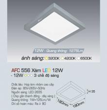 Đèn led nổi cao cấp 3 chế độ AFC 556X 12W 3C