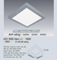 Đèn led nổi cao cấp 3 chế độ AFC 556X 18W 3C