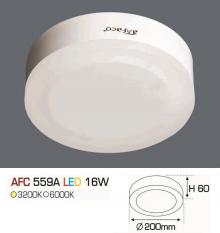 Đèn led nổi cao cấp 1 chế độ AFC 559A 16W