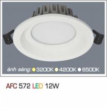 Đèn downlight led 1 chế độ AFC 572 12W 1C